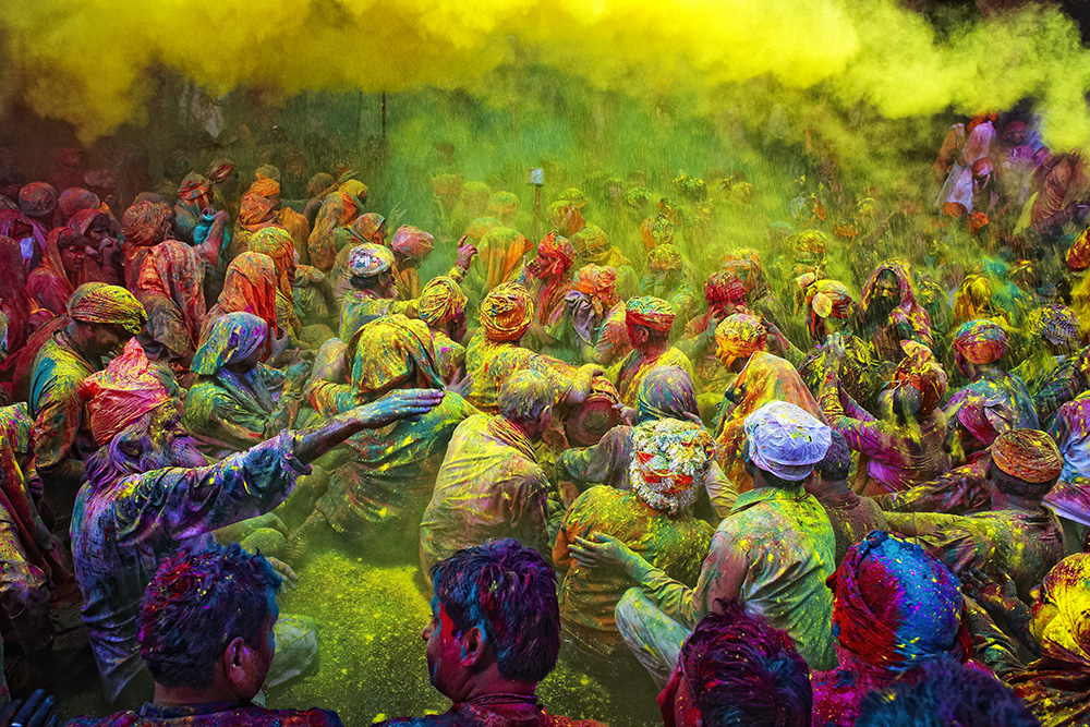 vibrant and colorful India
