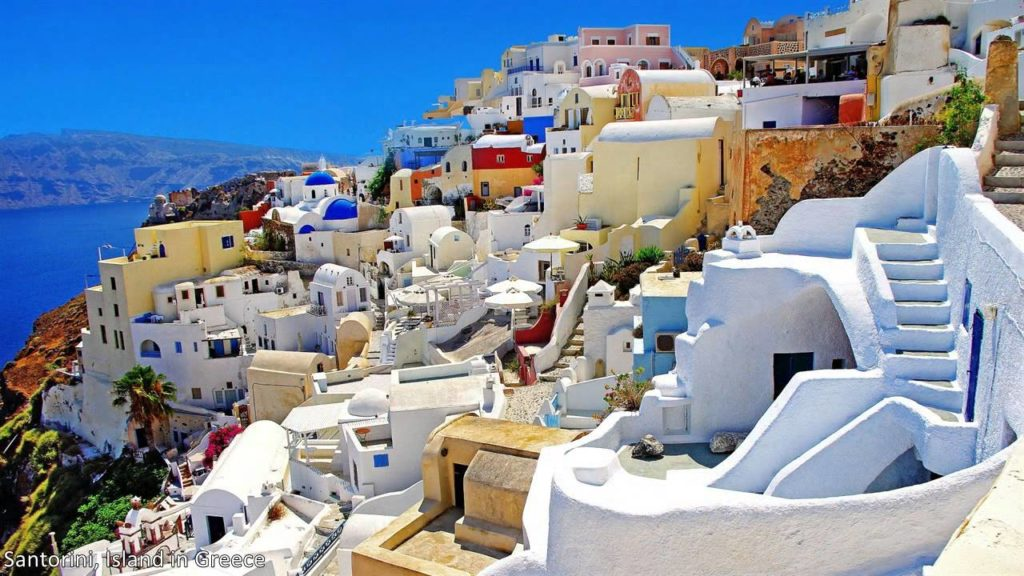 Santorini, Greece Honeymoon Destinations hd