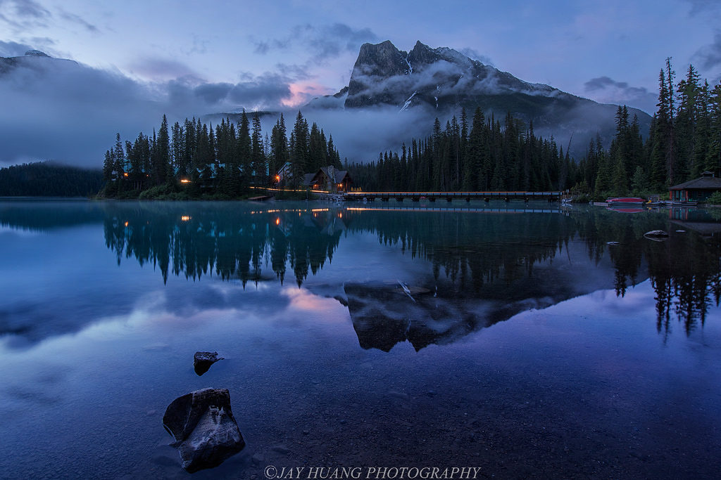 EMERALD LAKE LODGE, YOHO NATIONAL PARK CANADA