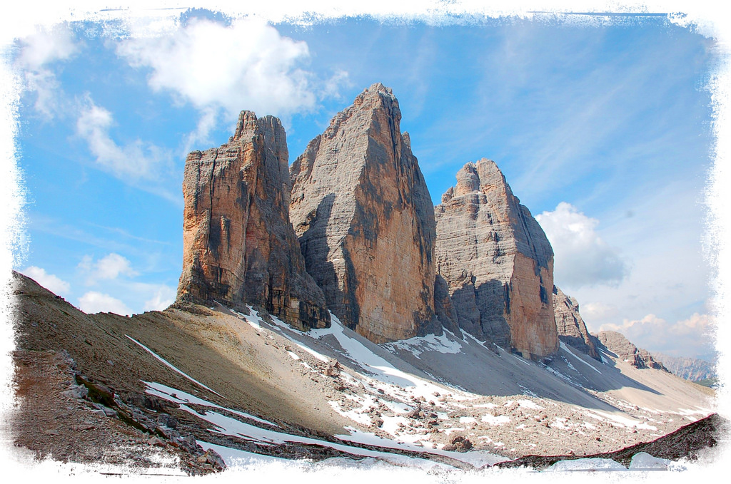 Three Peaks of Lavaredo Mountains