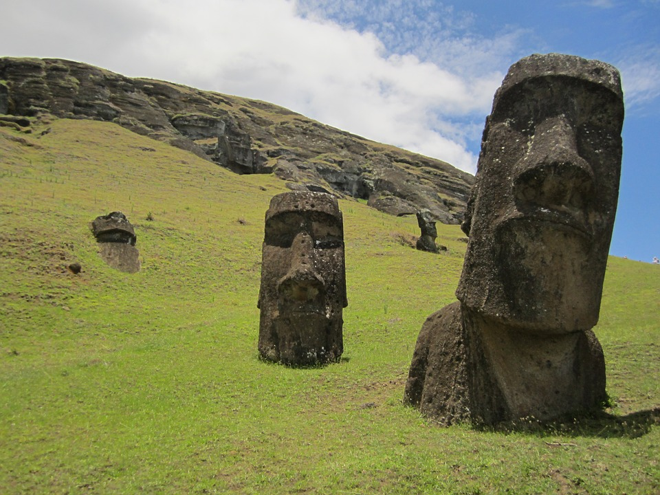 Easter Island Image Rapa Nui Civilization Face