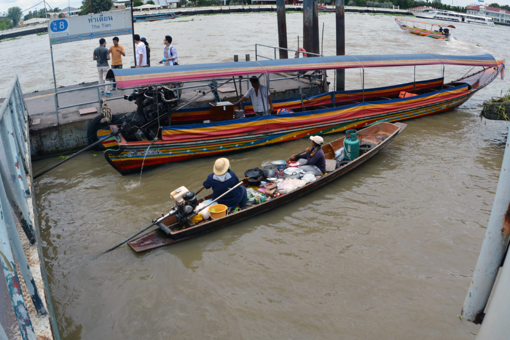 Chao Phraya River Vendor