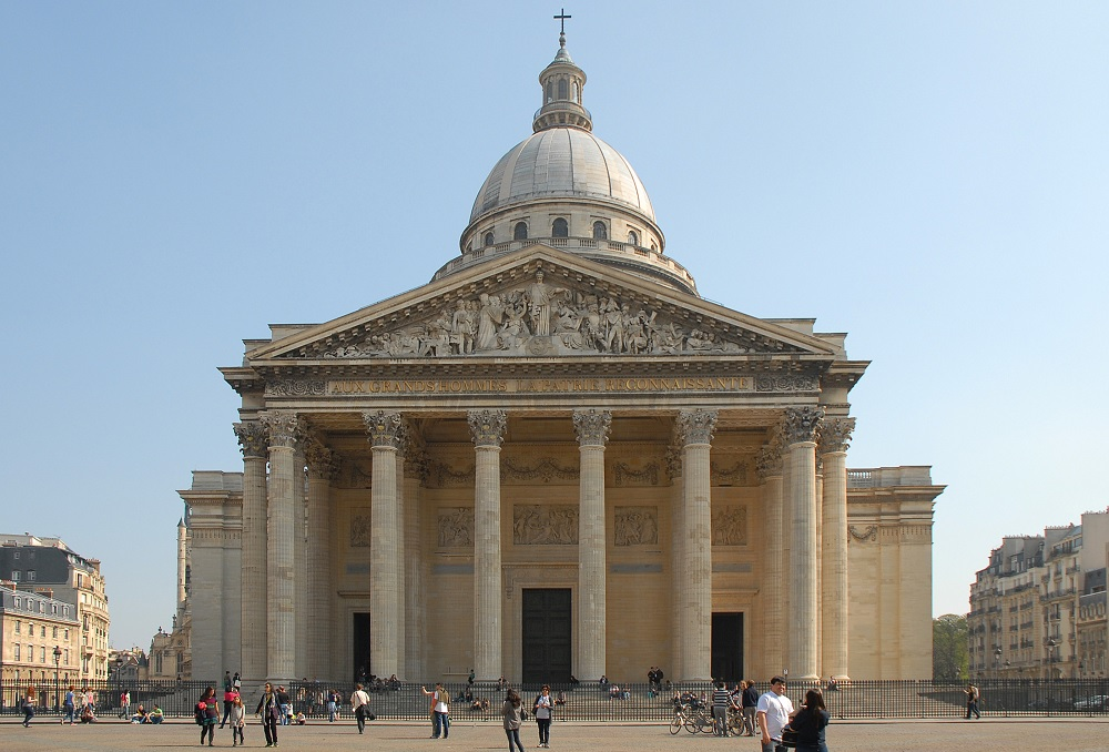 Pantheon Paris outside appearance
