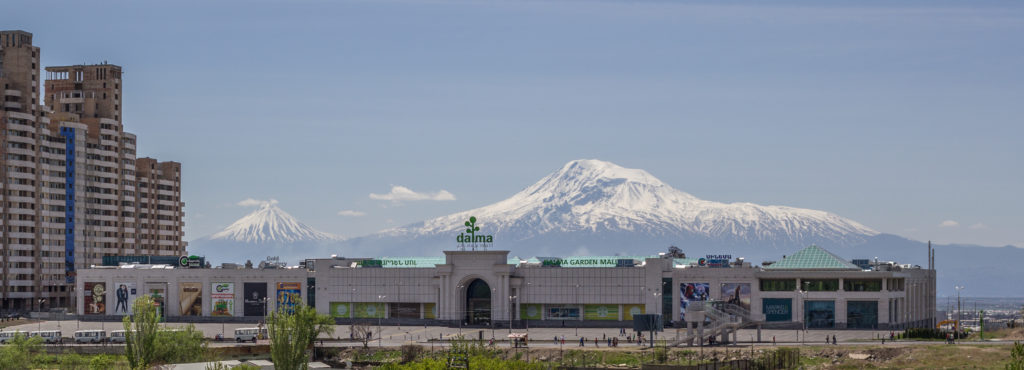 Yerevan mall, Dalma Garden and Rossia Mall
