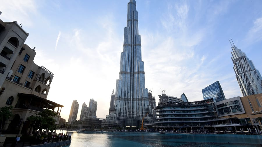 Dubai's Burj Khalifa: Within the world's tallest building