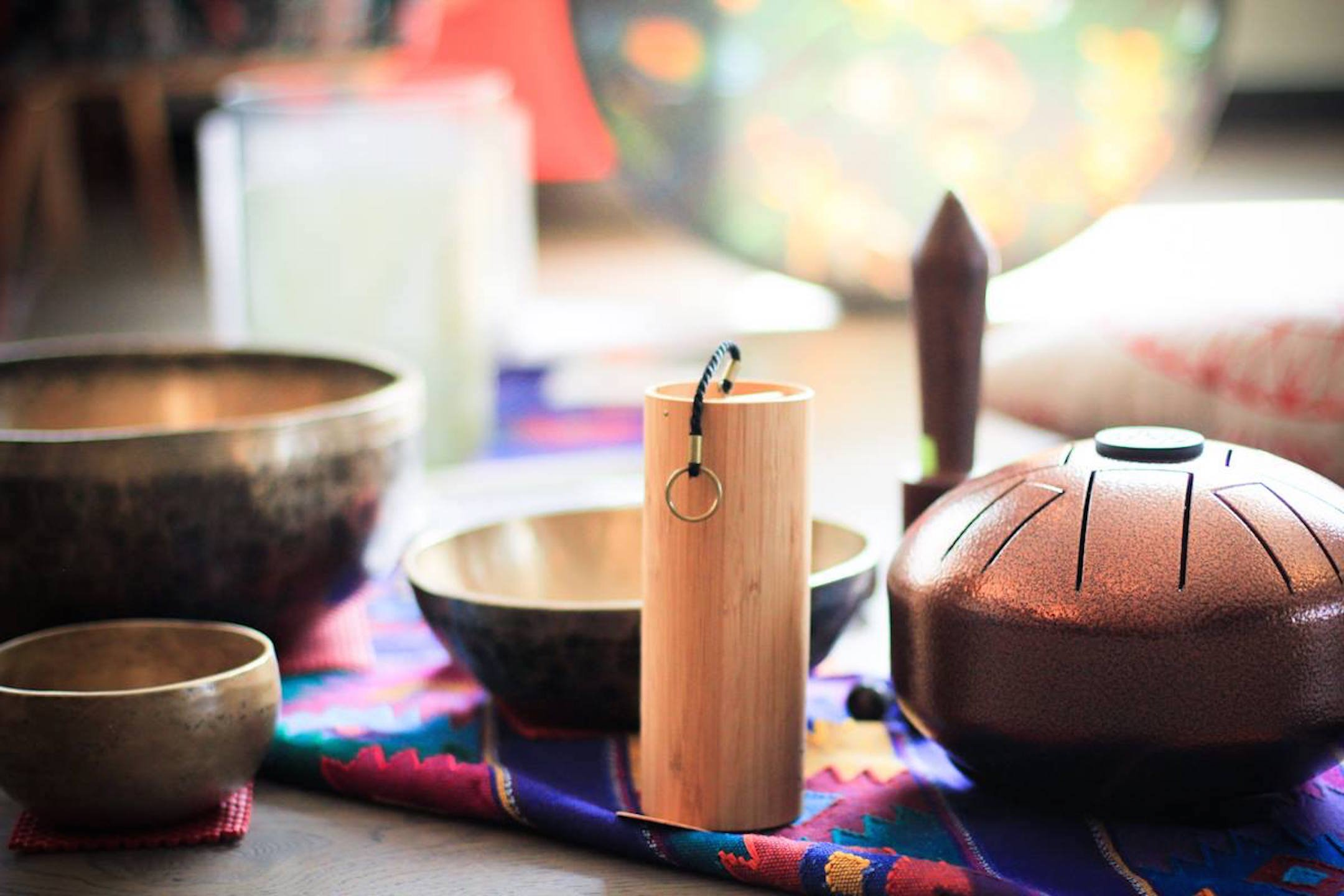 Learning About Sound Healing from Minna in the SF Bay Area