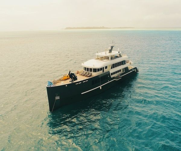 A whole other world in paradise: Exploring Palau with scuba-centric luxury yacht Black Pearl