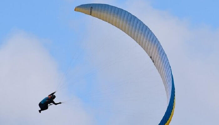 Paragliding in Coimbatore.