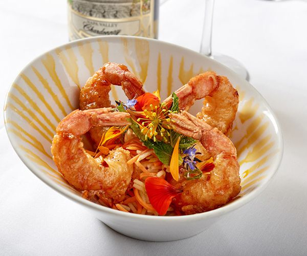Recipe of the week: Vietnamese glazed Royal Red Shrimp with spicy green apple slaw
