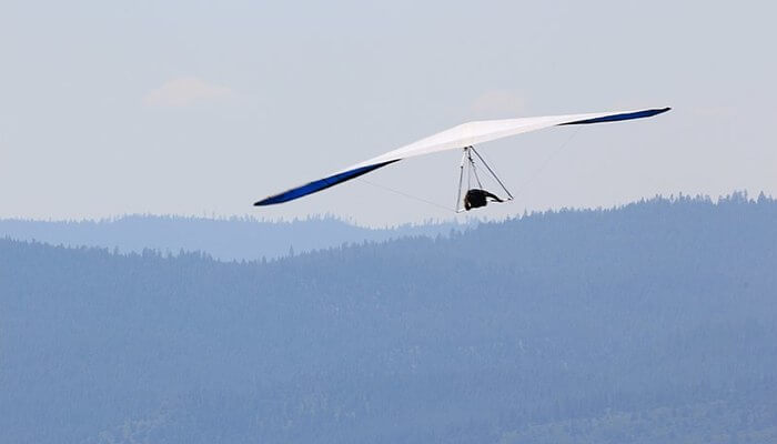 Hang gliding in auckland