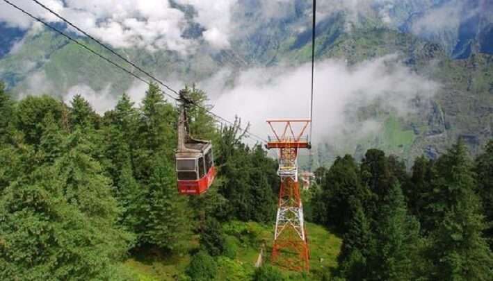 cable car ride in Uttarakhand