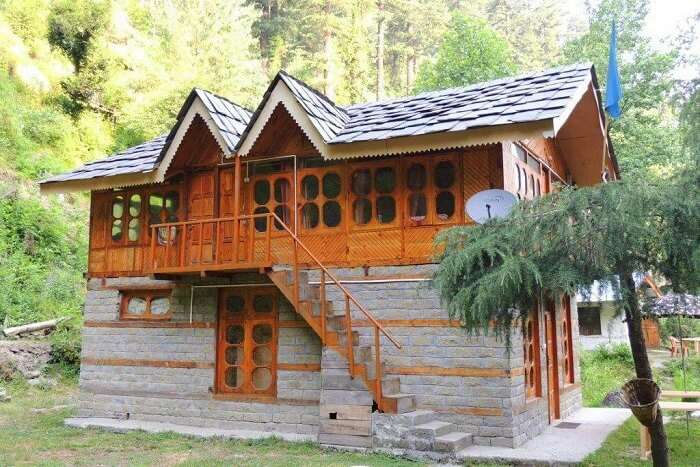stay at Latoda Hut & Pine Wood Home