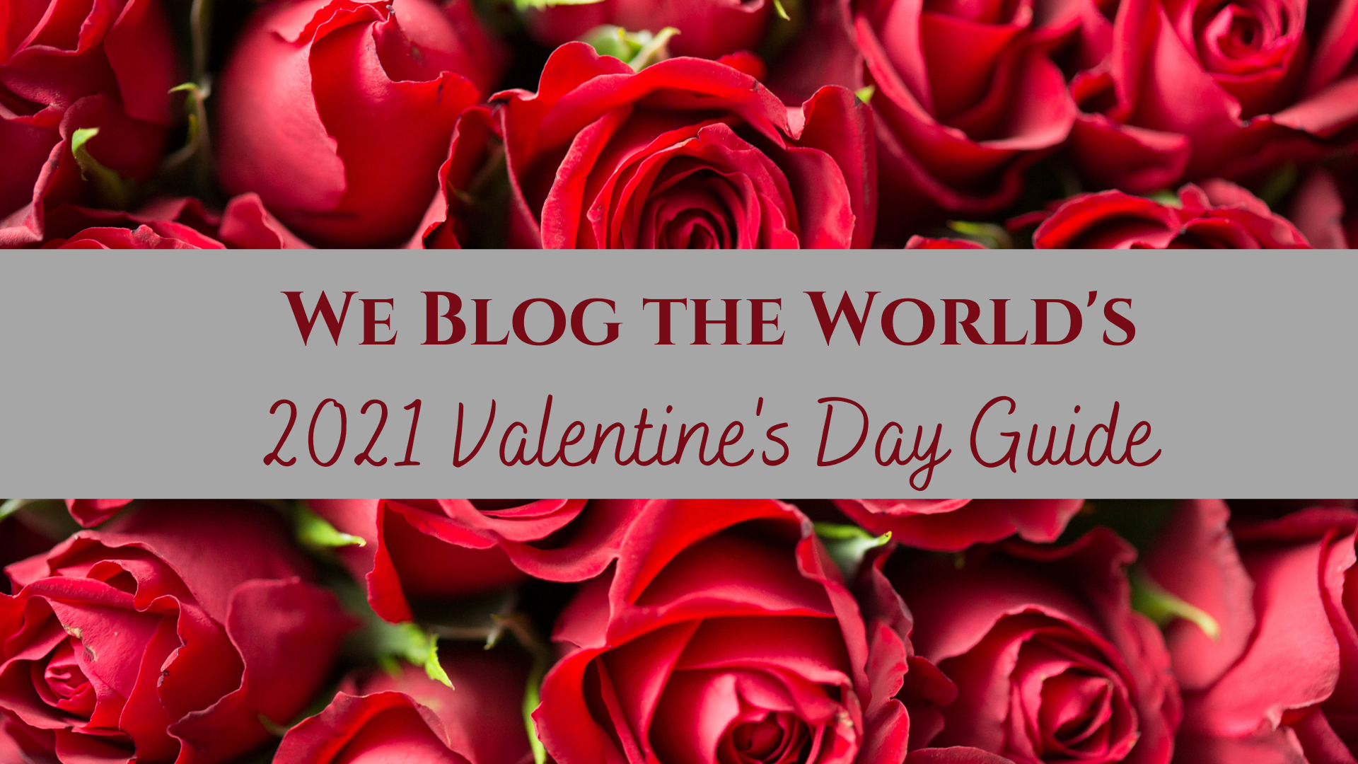 2021 Valentine's Day Gift Guide • We Blog The World