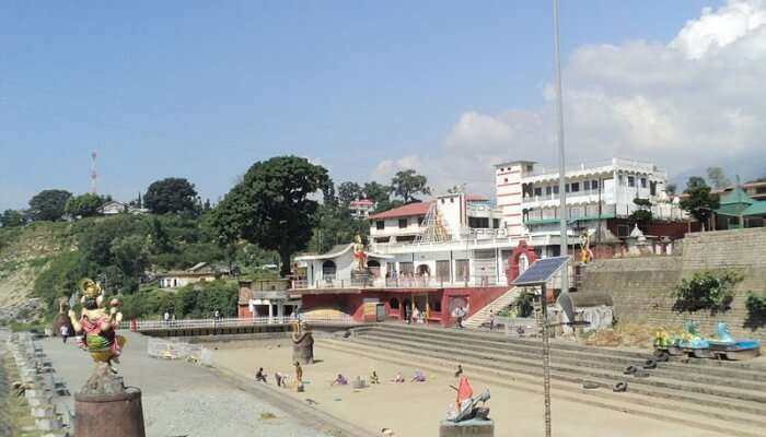 temple at the ghat