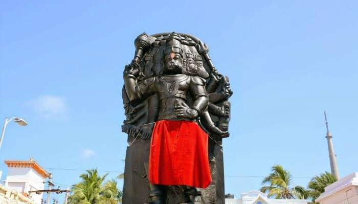 The five faced Hanuman Temple, among the best places to visit in Rameshwaram