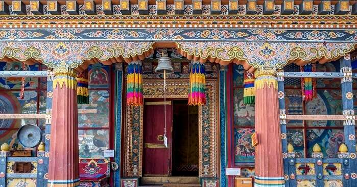Symbols Of Traditional Architecture And Spirituality