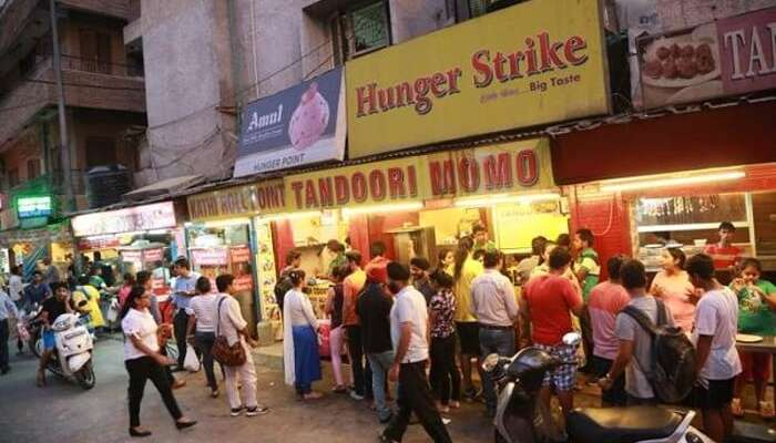 amar colony places to eat