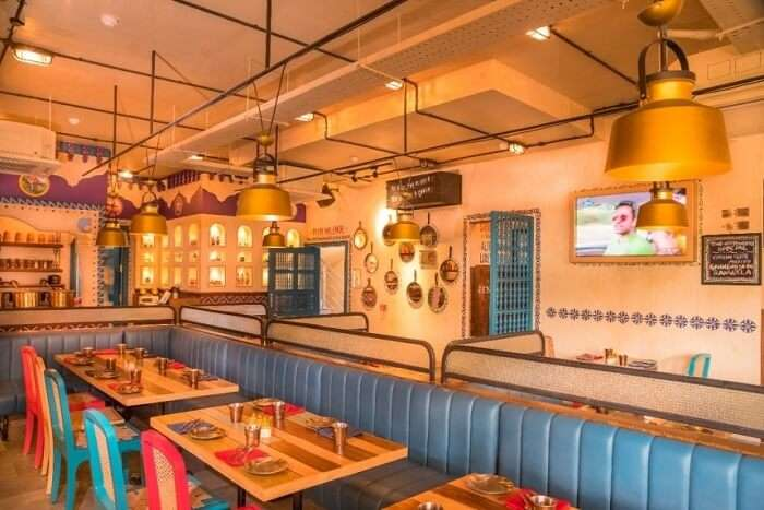 dine lavishly at Dhaba Estd 1986 Delhi in hyderabad