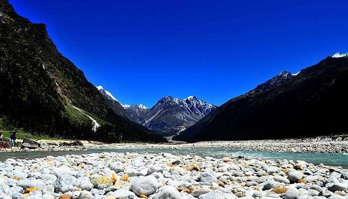A stunning view of the Yumthang Valley