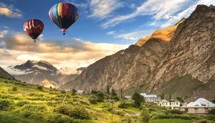 View Of Lahaul Valley