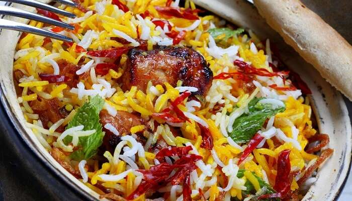 have the delicious Paradise biryani in hyderabad