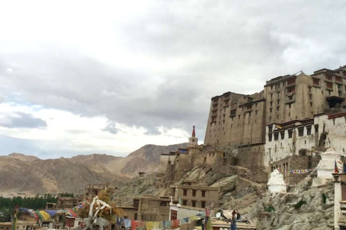 Ladakh View homestay nestled in mountains offer perfect view of the city