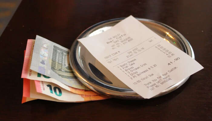 Say yes to tipping