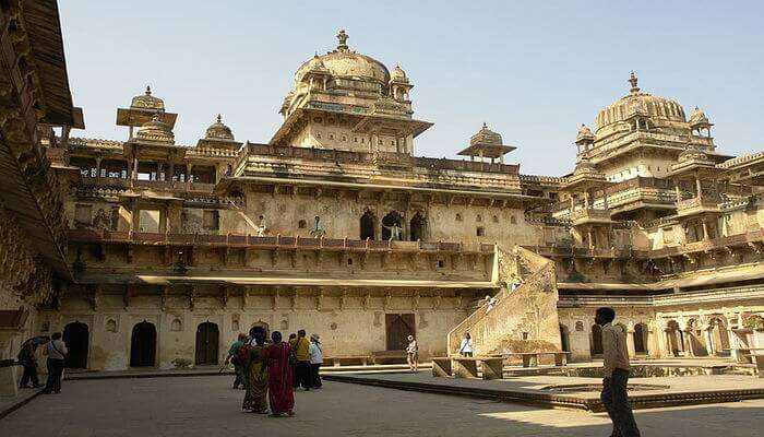 Orchha is famous for the Jehangir Mahal