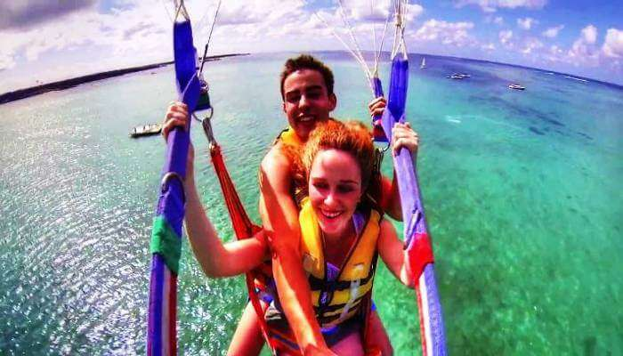 Parasailing in Mauritius_22nd oct