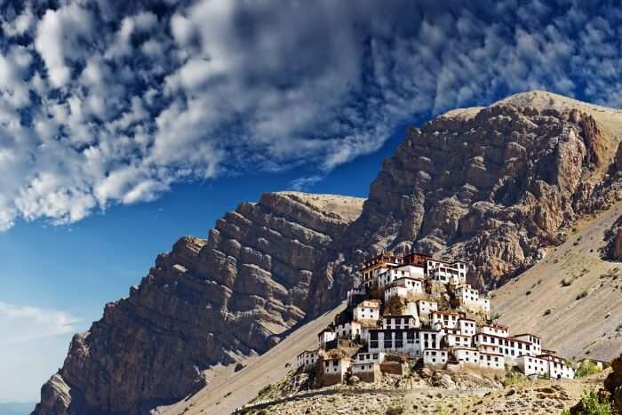 https://traveltriangle.com/blog/buddhist-monasteries-in-india/Key monastery in himalayas mountain