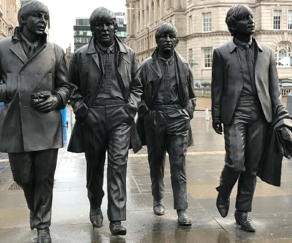 Liverpool was famously the home of The Beatles and the birthpace of the Fab Four
