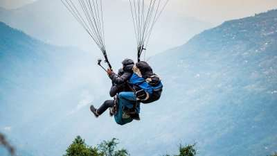 paragliding is the best