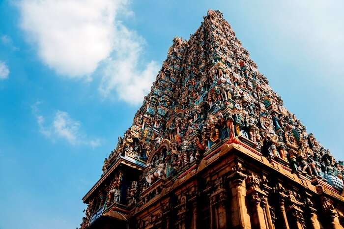 architecture of meenakshi temple