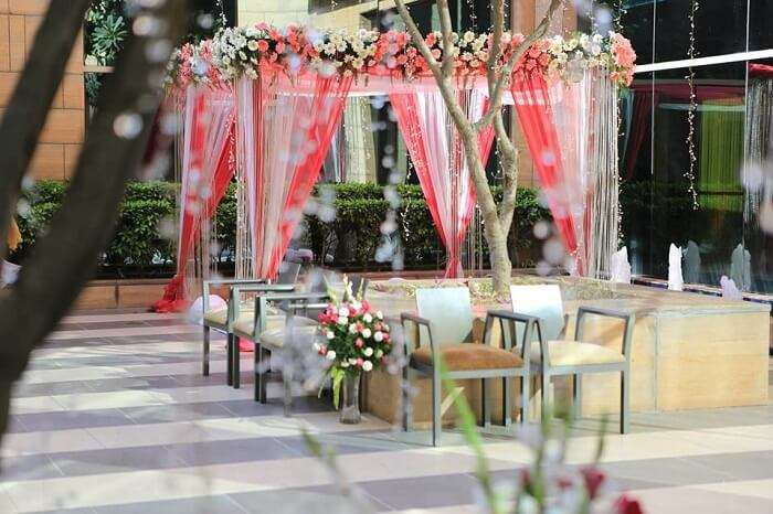 have a wedding at Courtyard in gurgaon